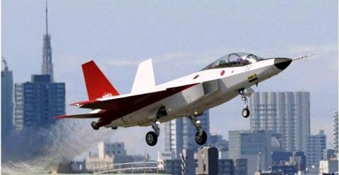 El X-2 un caza de 5ta Generación  para el Japón