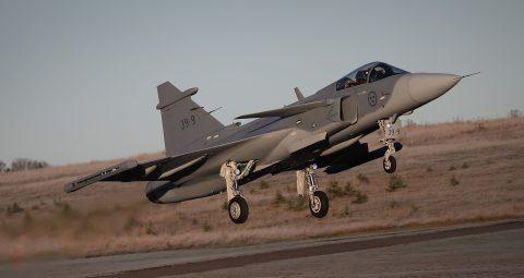 Despega el segundo avión de prueba Gripen E