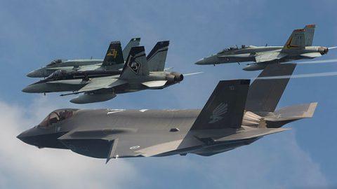 Australia recibe sus primeros F-35