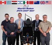 Martin Baker produce el asiento eyector 2000 del T-6 Texan II