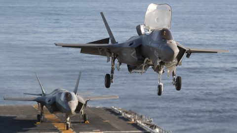 F-35B Lightning II, la versión de despegue vertical