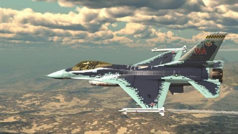 Los F-16 agresores de la USAF serán camuflados como cazas rusos Su-57