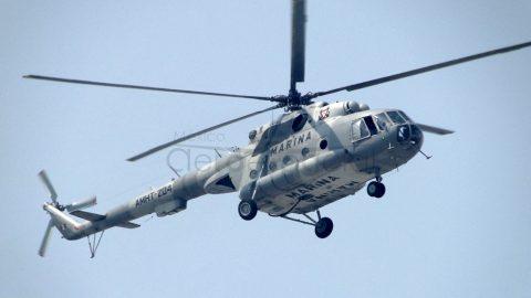 Helicóptero Mi-17 de la Armada de México