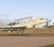 Se completó el primer vuelo  con el segundo avión GlobalEye