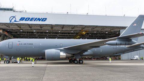 La USAF recibe su primer avión cisterna KC-46A Pegasus