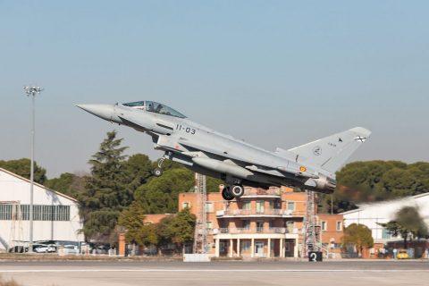 Airbus entrega el primer Eurofighter Tranche 1 actualizado al Ejército del Aire