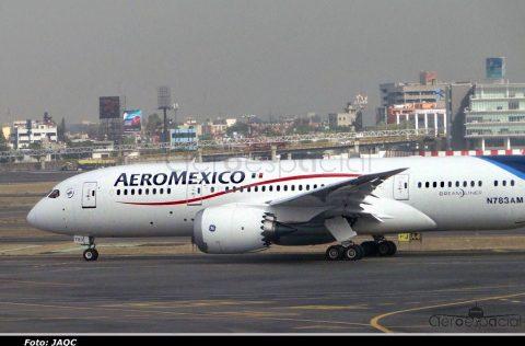 Aeromexico no volara desde Santa Lucia